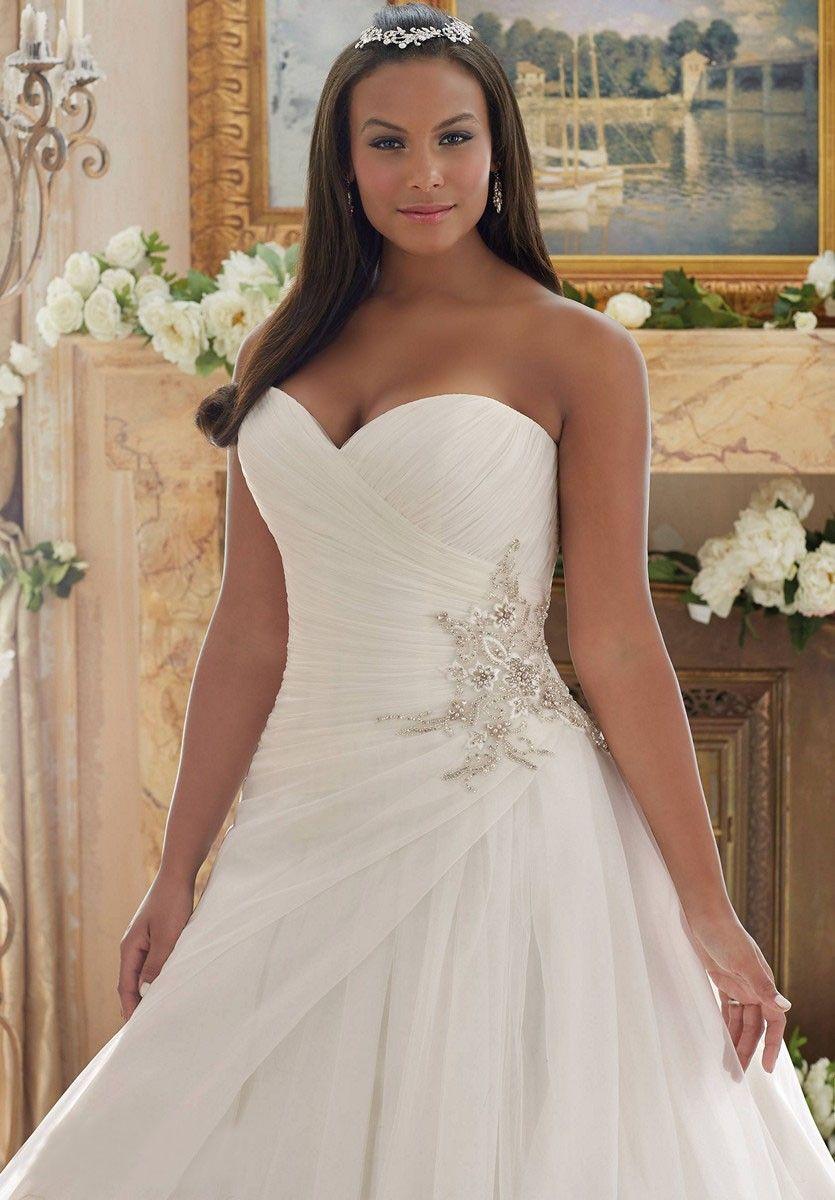 Mori Lee Julietta 3203 Wedding Dress Madamebridal Com Wedding Dresses Strapless Plus Size Wedding Gowns Plus Wedding Dresses [ 1200 x 835 Pixel ]