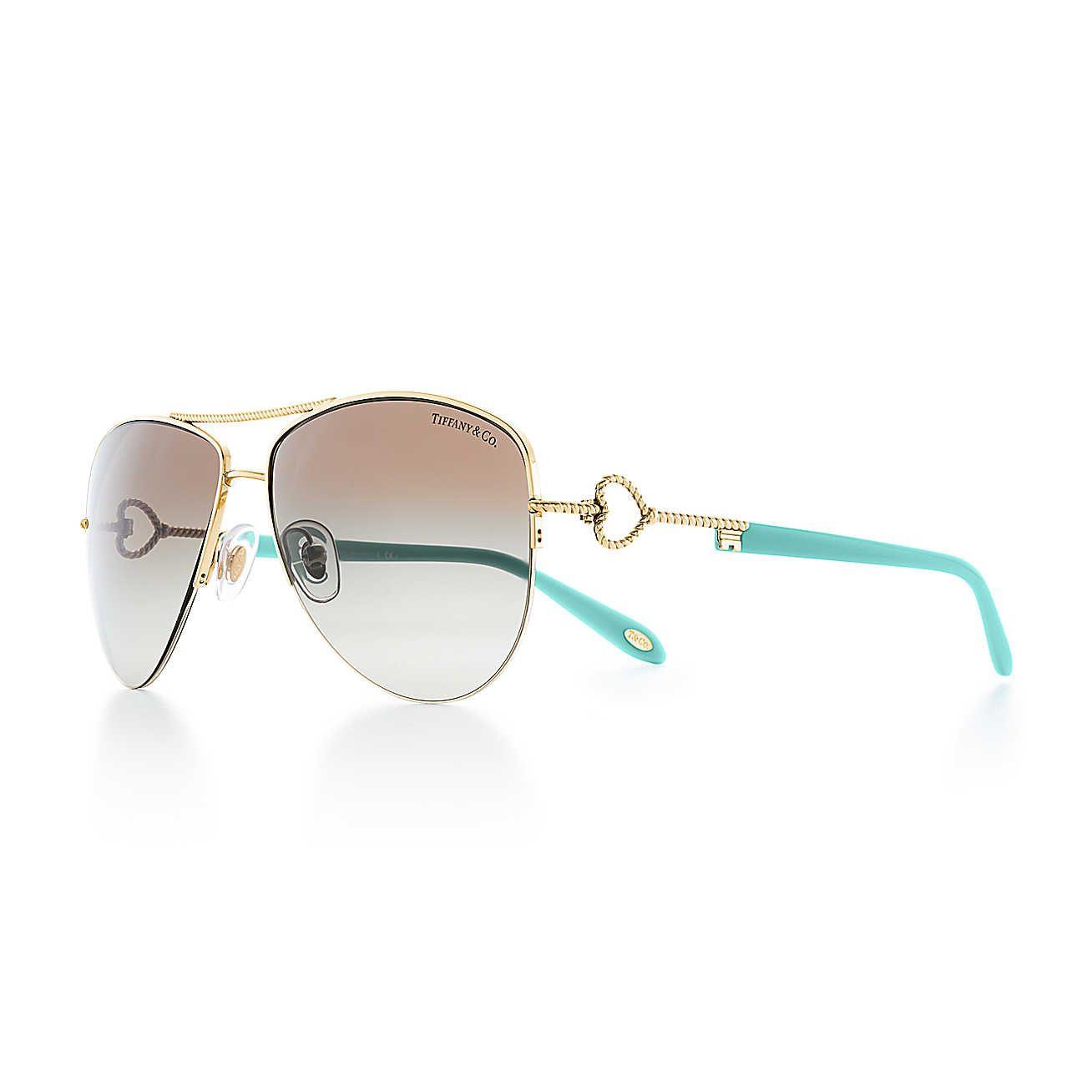 a222dd576a85 Tiffany Twist Aviator Sunglasses in 2019