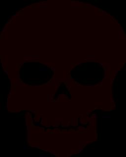 Skull And Crossbones Clip Art Free : skull, crossbones, Skull, Clipart, Stencils, Panda, Images, Skulls, Drawing,, Halloween, Silhouettes,, Stencil