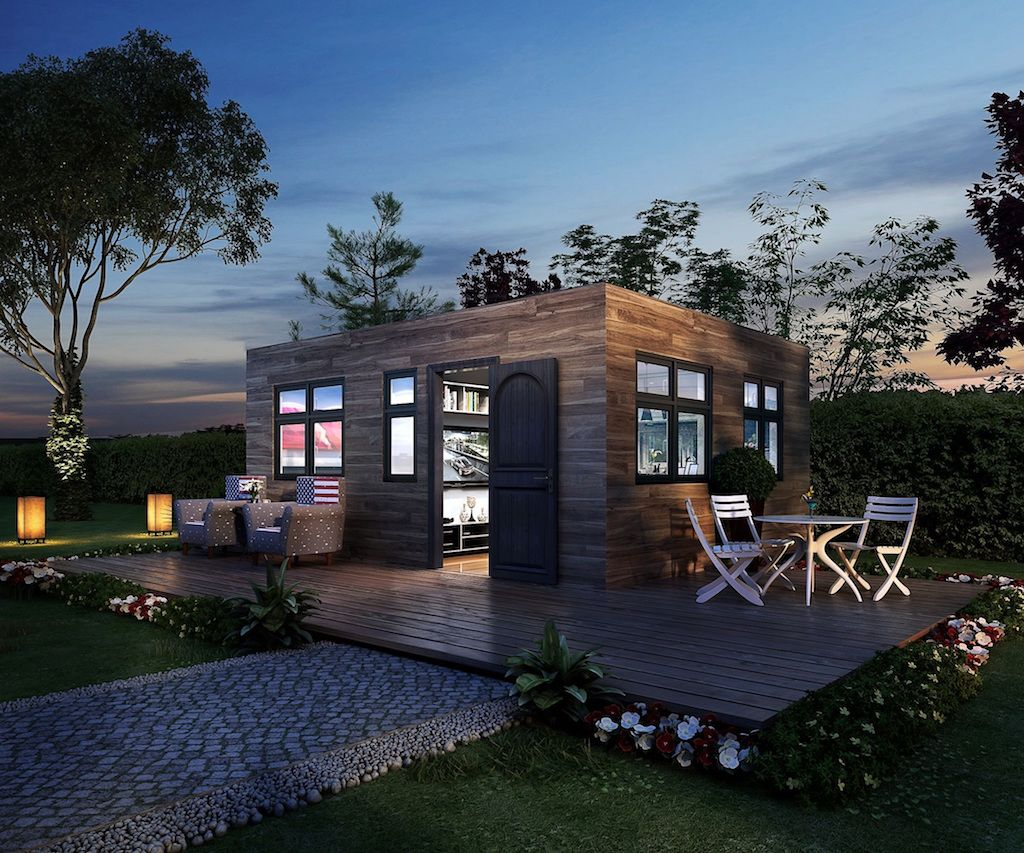 Tiny In A Box Tiny house swoon, Prefab shipping