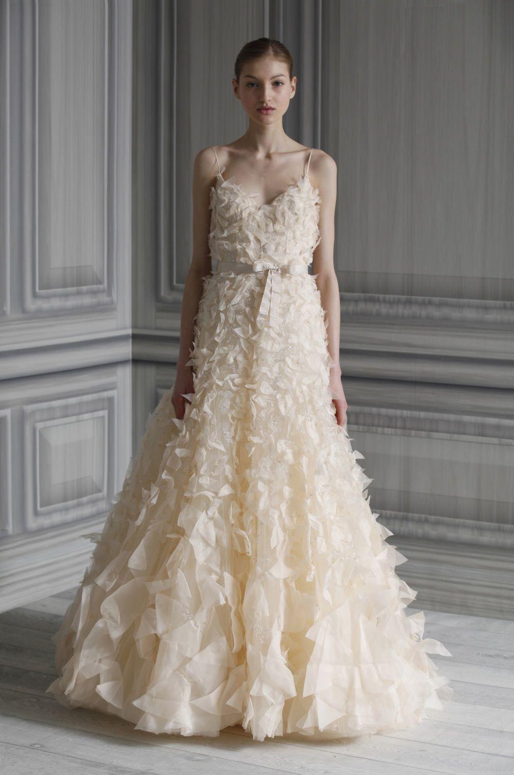 Wedding-dress-monique-lhuillier-bridal-gowns   The DRESS   Pinterest ...