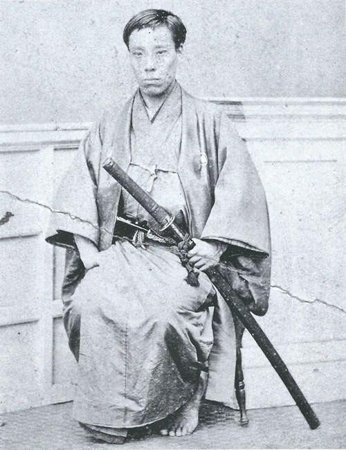 高杉晋作 takasugi shinsaku 1839 1867 sumi no neko samurai japanese history japanese warrior