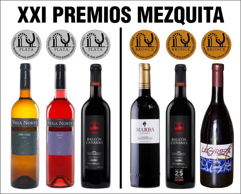 6 Vinos Canarios Premiados En El Xxi Concurso De Vinos Premios