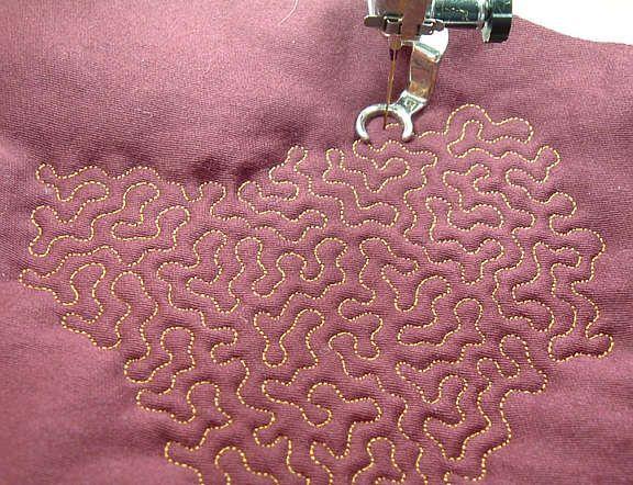 fabric pattern | Design Pix of the Week | Pinterest | Stippling ... : quilting stitch - Adamdwight.com