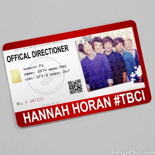 My Offical 1d Directioner Card From Imagechef Com Cards My World My Everything