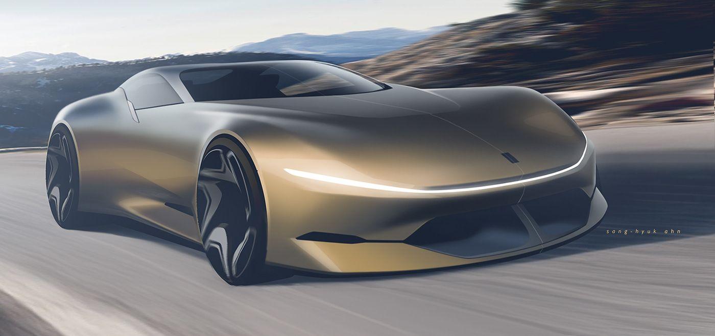 Ferrari 8e8hyperspeed On Behance Future Concept Cars Concept Car Design Automotive Design