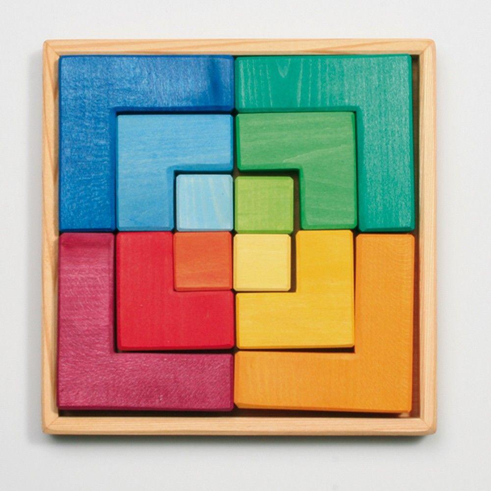 Perfect Vierkant Puzzelblok Design Ideas