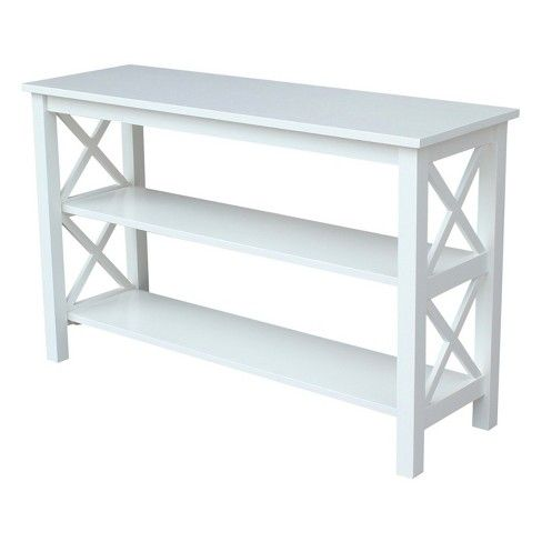 Hampton Console Table White International Concepts Target