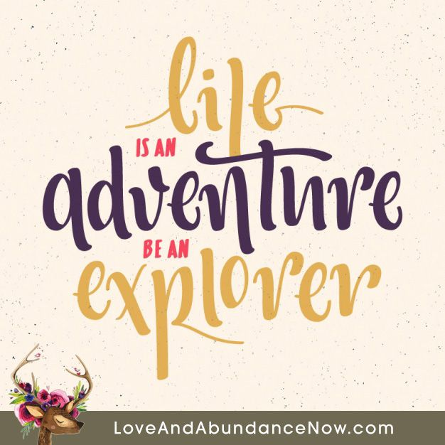 Explore Life Quotes: Life Is An Adventure, Be An Explorer