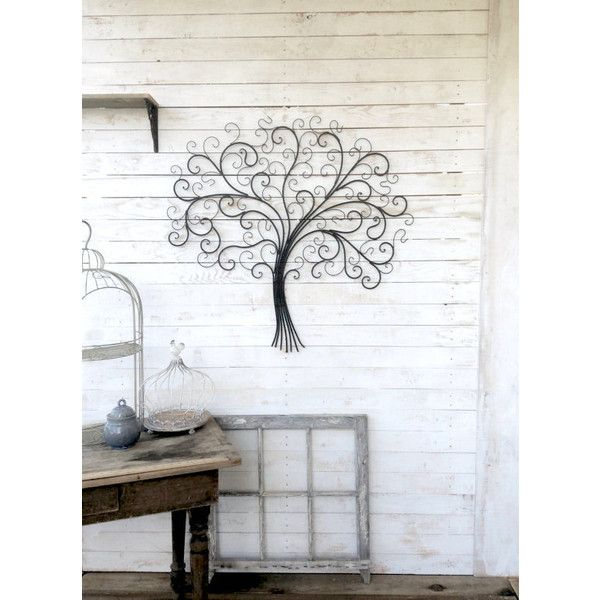 Metal Tree Wall Decor Iron Tree Large Wall Decoration Country Home ...