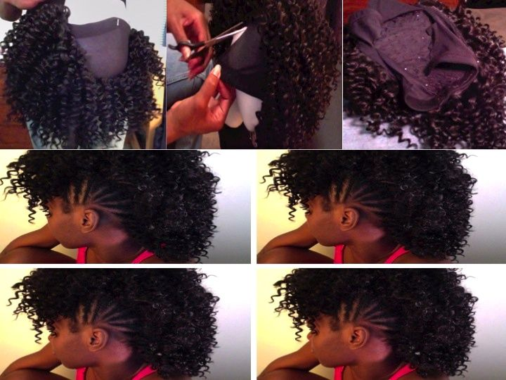 Virgin Hair Styles Braids: Removable Mohawk Shared By Dominique