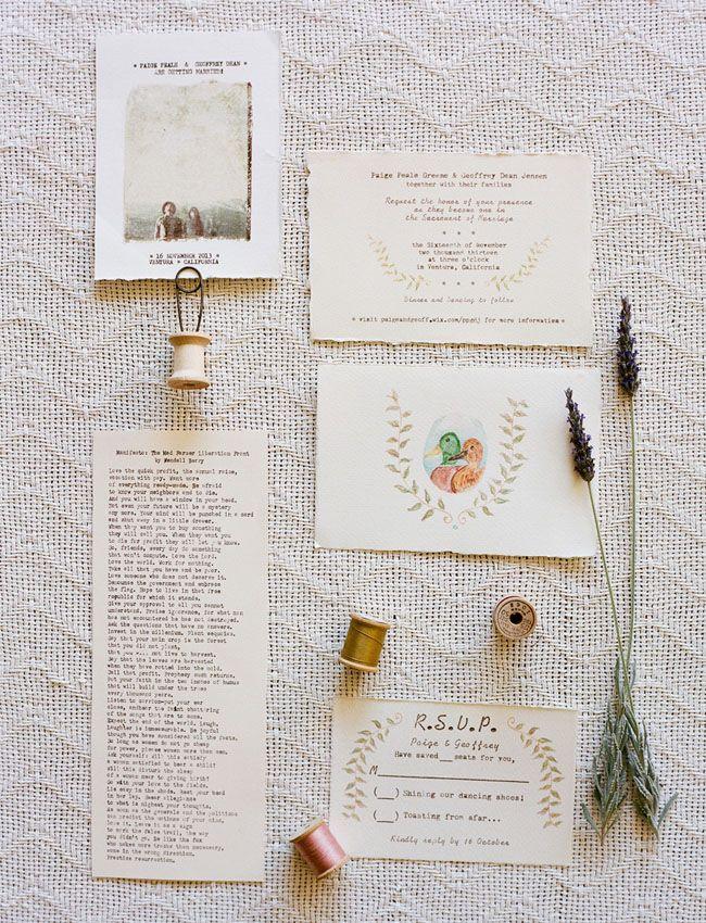 Handmade Vintage Barn Wedding: Paige + Geoff | Vintage, Wedding ...