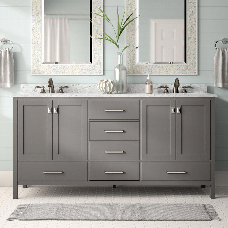 Newtown 72 Double Bathroom Vanity Set In 2020 Bathroom Design Bathrooms Remodel