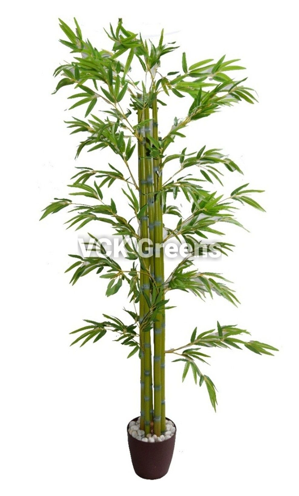 Artificial Bamboo Leaves Plant for home and offices. There are 6 sticks in single plant. Product Height - 170cm (5.7Feet), Product comes without pot. Product Code - #VCKAP2043. #artificialplants #fakeplants