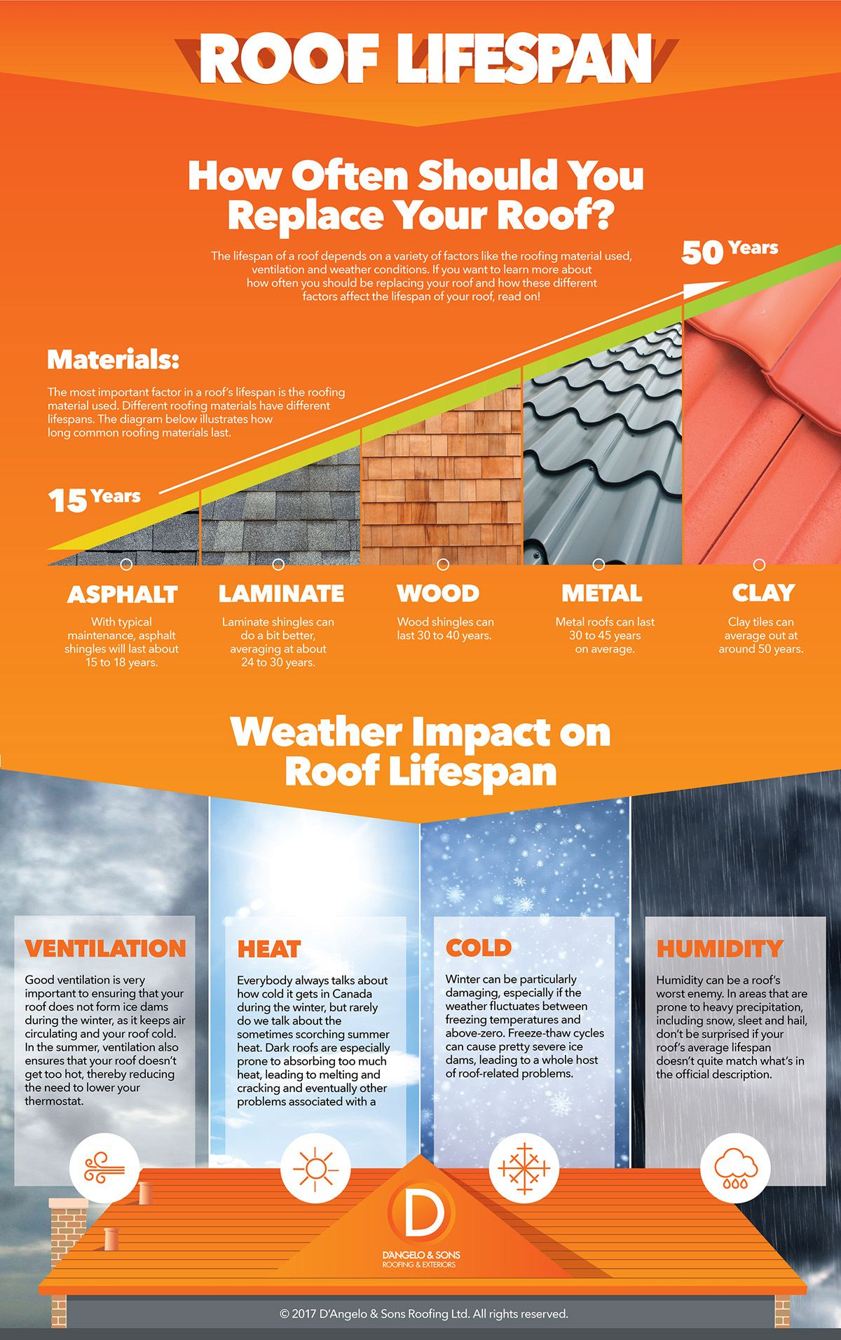 How Often Should You Replace Your Roof Infographic Roofing Roof Cost Roof