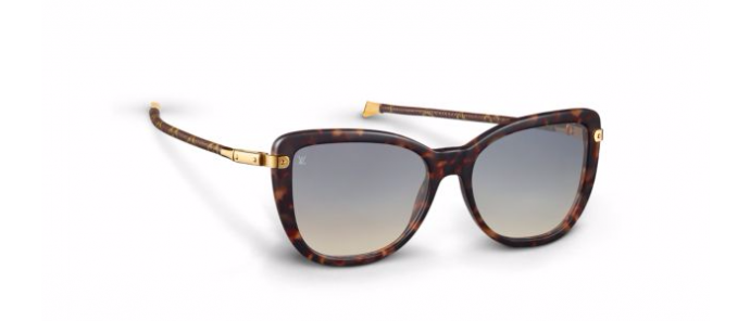 7f5c49a2d3b9 Louis Vuitton Charlotte sunglasses are feminine and chic for summer ...
