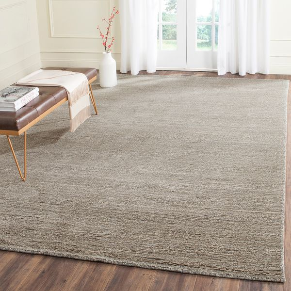 Safavieh Hand Tufted Himalaya Grey Wool Rug 10 X 14 Overstock Com Shopping The Best Deals On 7x9 10x14 Rugs Wool Area Rugs Rugs Grey Wool Rugs