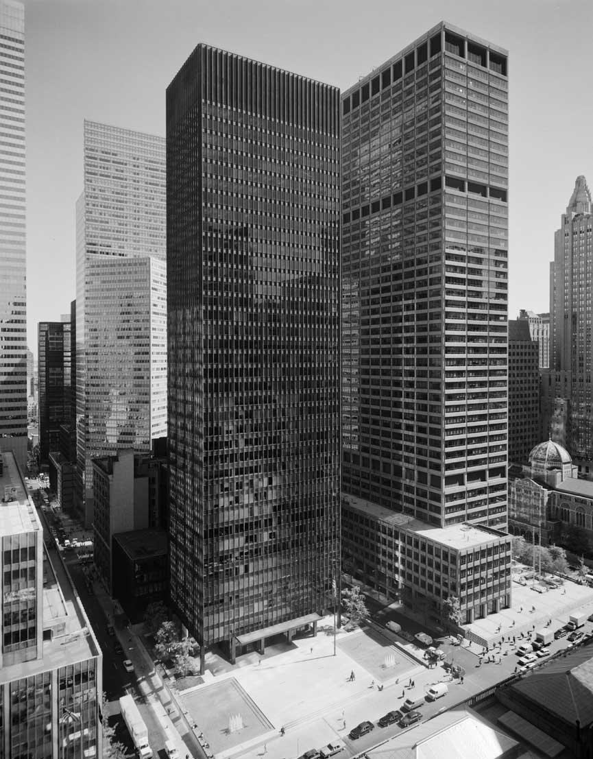 Seagram Building Ludwig Mies van der