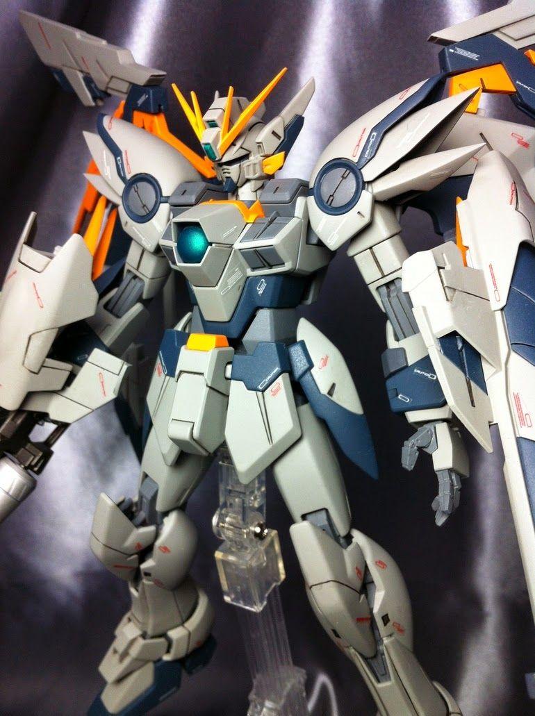 Mg 1 100 Wing Gundam Ew Ver Ka Expandable Wings Custom Build Gundam Kits Collection News And Reviews Gundam Custom Gundam Gundam Model