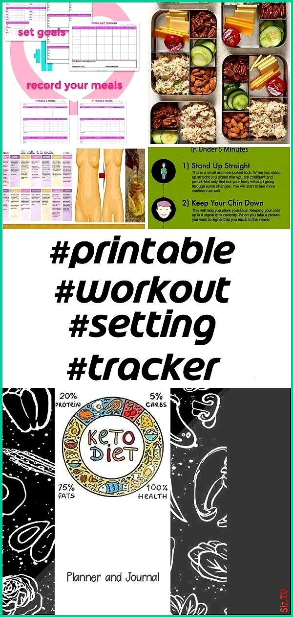 #printable #planfitne #tracker #setting #planner #fitness #journal #workout #weekly #frami #keara #h...
