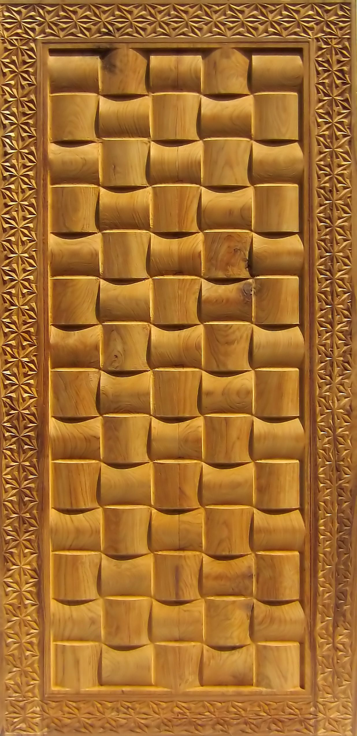 We manufacture these beautiful teak wood carved doors which are