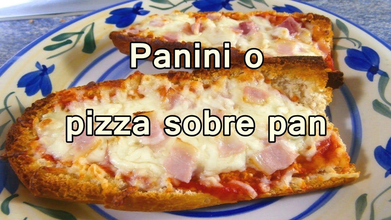 Panini o pizza en pan recetas de cocina faciles rapidas y panini o pizza en pan recetas de cocina faciles rapidas y economicas d forumfinder Image collections