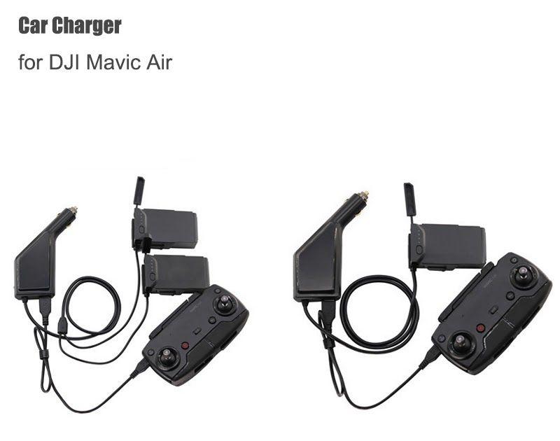 Car Charger for DJI Mavic Air Intelligent Battery Charging Hub Multi Battery