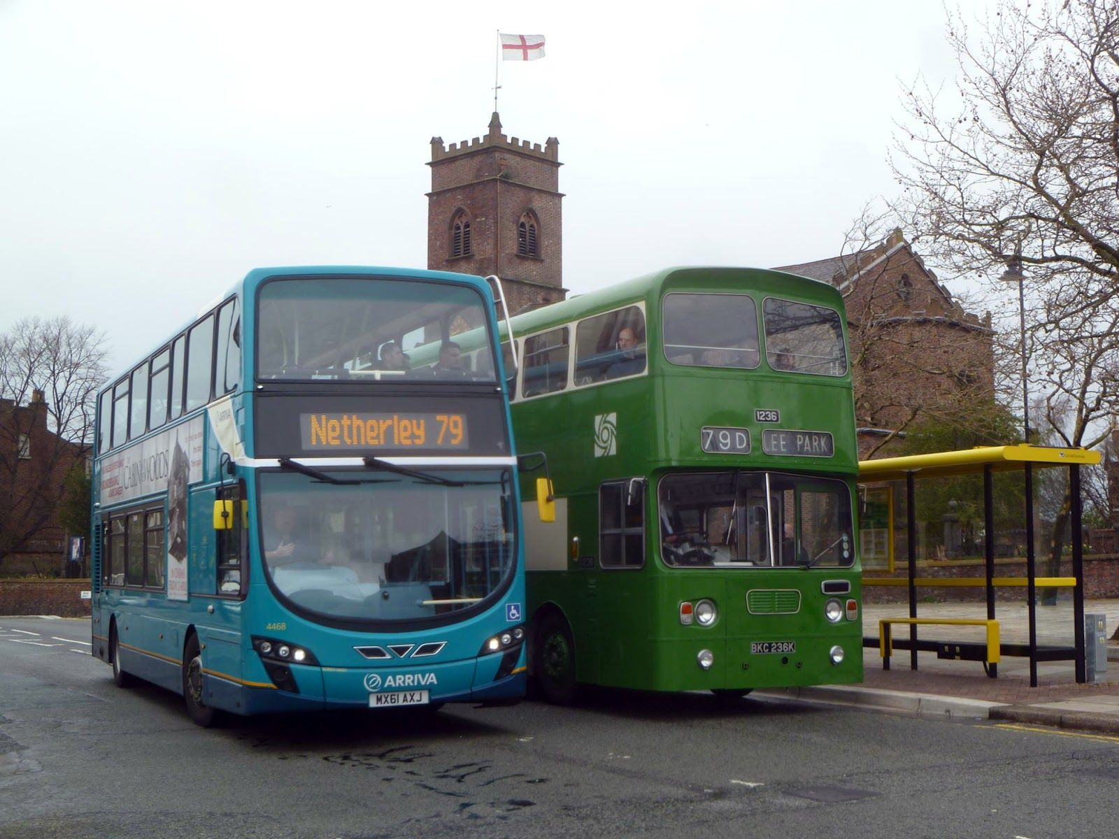 The 79 Bus Then And Now