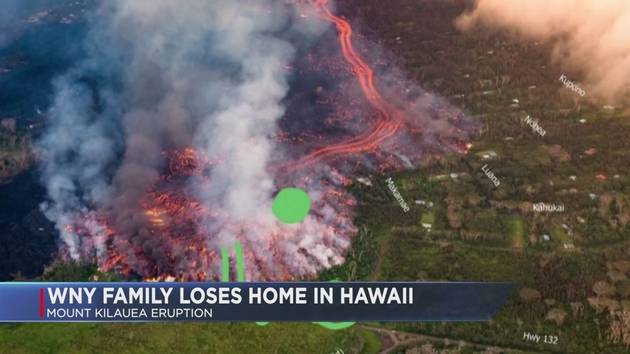 A Mayville Family now living in Hawaii is seeing firsthand