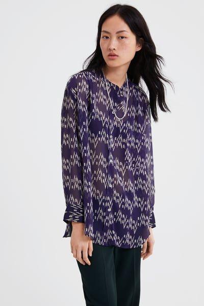 a452c545ead1d1 Women's Shirts & Blouses | Online Sale | ZARA United Kingdom