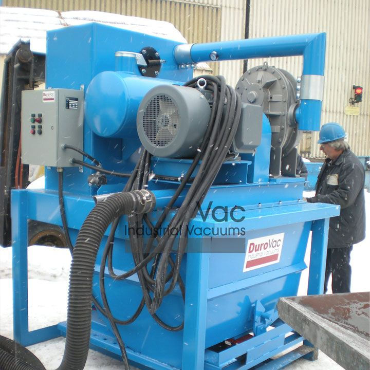 Durovac industrial vacuum cleaner can save you time and