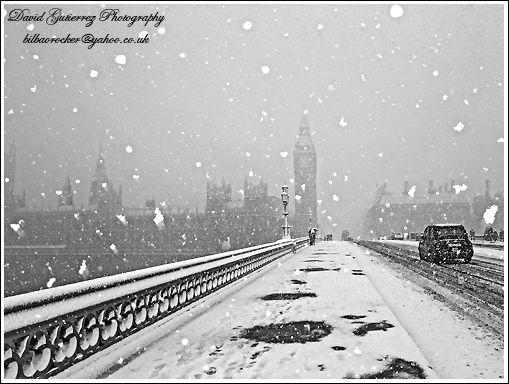 London snow storm.