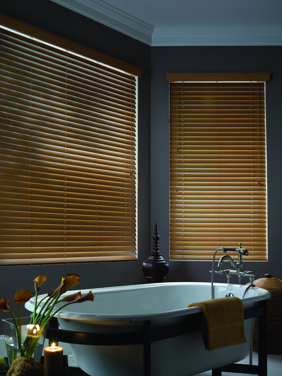 Faux Wood Blinds Offer Homeowners The Cly Look Of Wooden At A Fraction Cost They Can Be Custom Cut To Fit Any Size Window And Are Durable