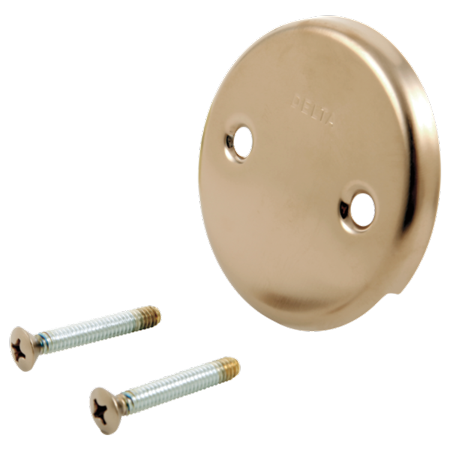 Bath Tub Overflow Plate With Trip Lever