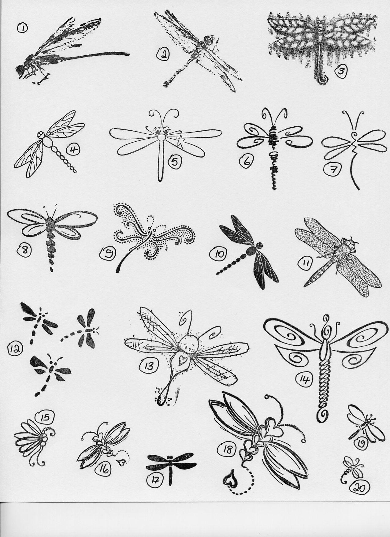 Image detail for -Dragonflies | Tattoos | Pinterest | Libélulas ...