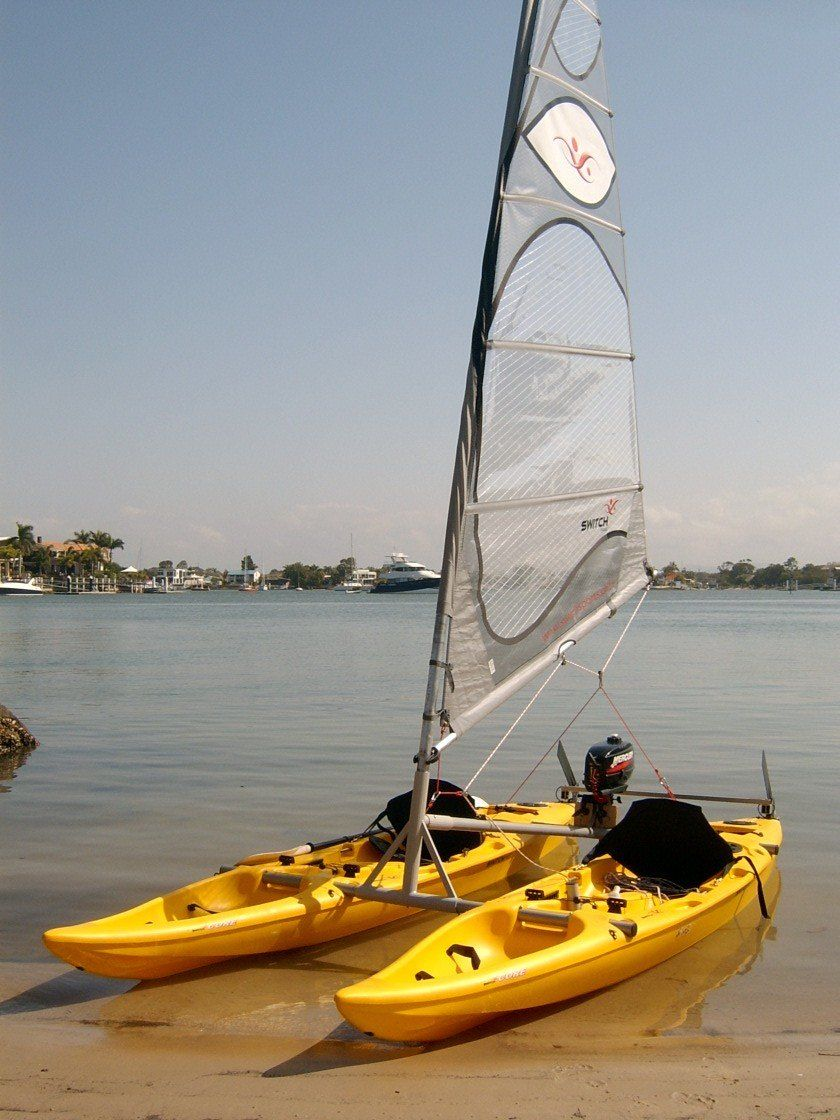 Switch - catamaran sailboat   Boats and Water Sports in 2019