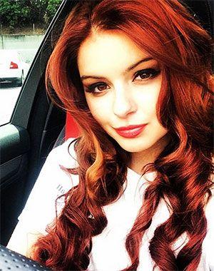 teen ariel redhead