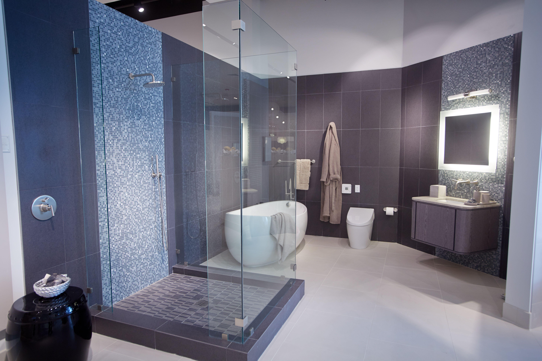 bathroom vignette in pirch oakbrook showroom pirch chicago