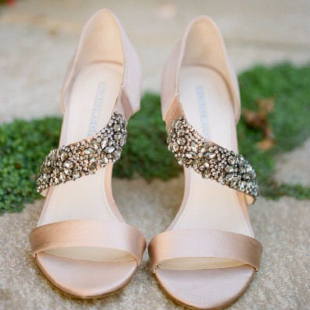Gorgeous Heels. Champagne Wedding ShoesBlush ...