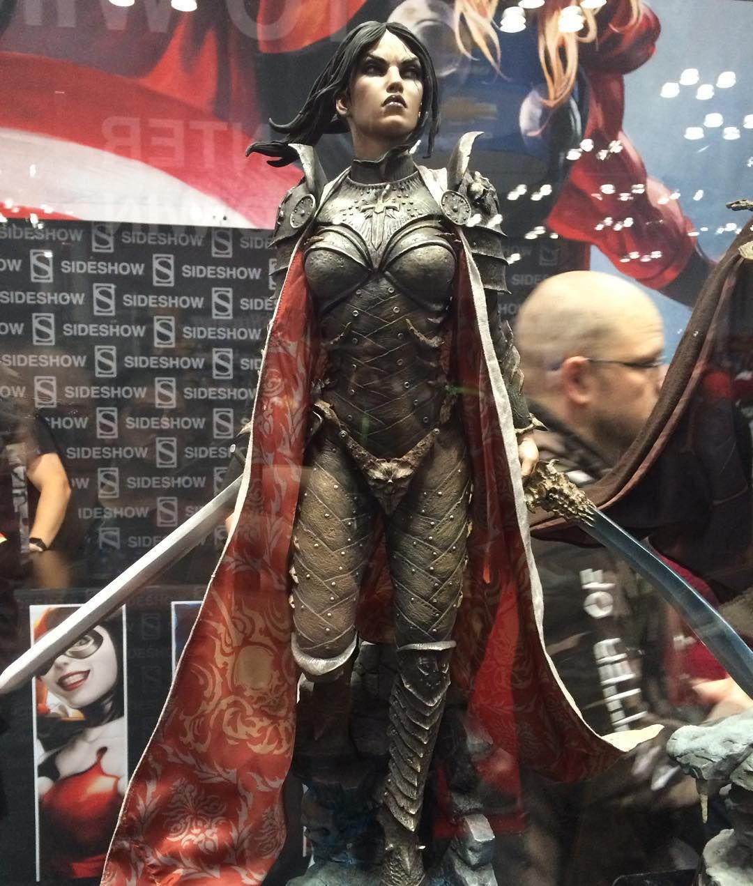 More from #SideshowCollectibles :  Not sure what these are from but they're sick lookin'! #NewYorkComicCon #NewYorkComicCon2015 #NYCC #NYCC15 #statue