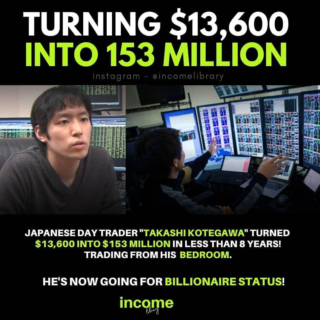 TURNING $13,600 INTO $153 MILLION | Day trader, Instagram, Instagram photo