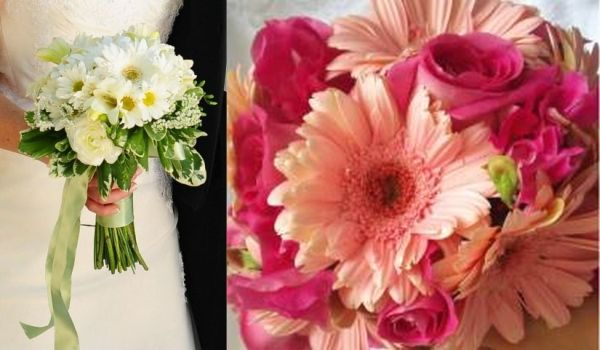 Each Wedding Flower Speaks A Different Language Wedding Clan Daisy Bouquet Wedding Gerber Daisy Bouquet Wedding Gerber Daisy Wedding