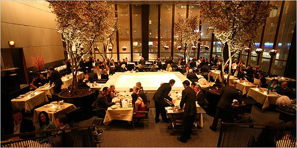 Nyc The Four Seasons Hotel This Is Old Famous Restaurant In