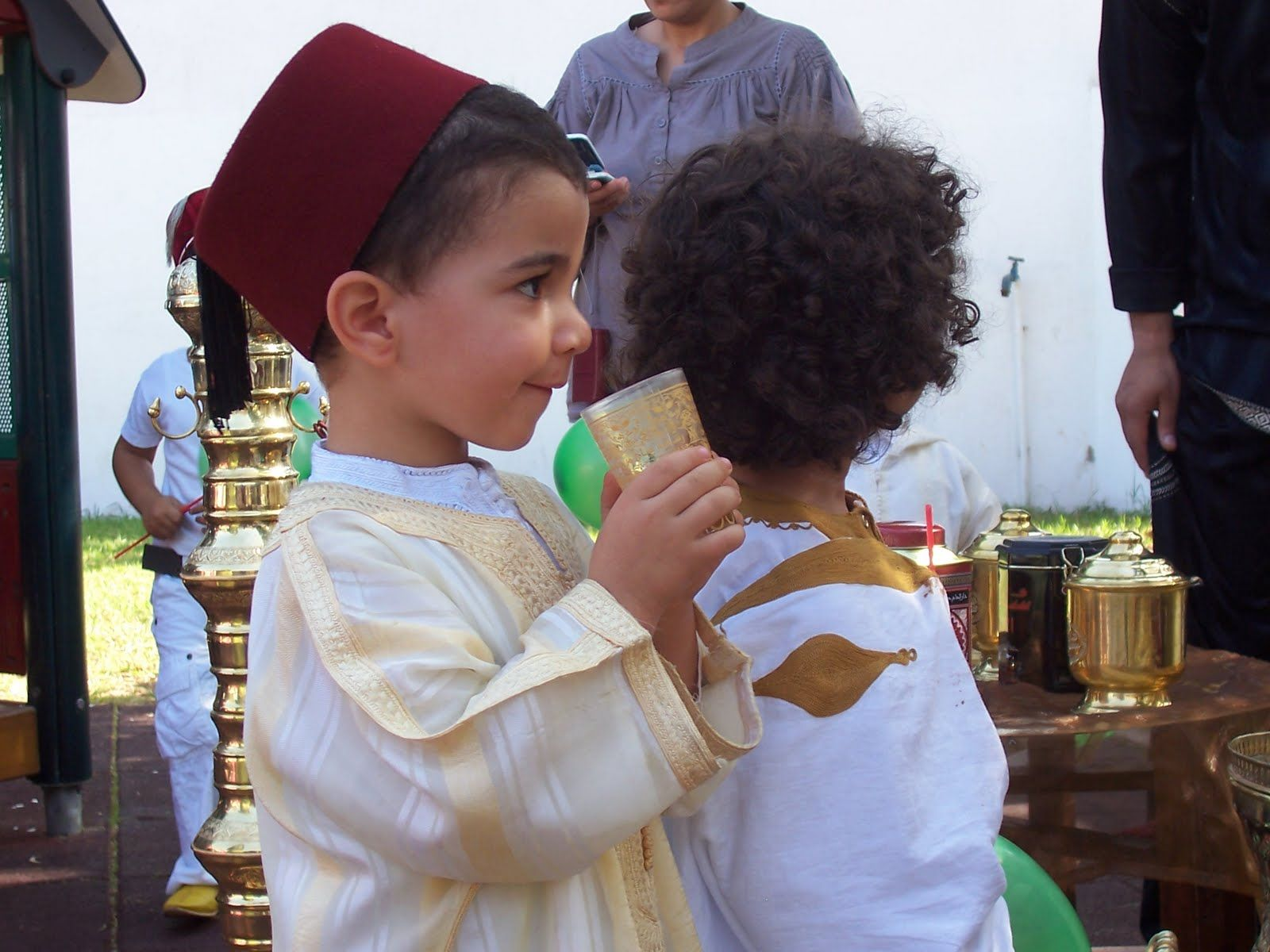 Moroccan djellaba and fez hat for little boy Baby Boy Fashion 2a878e33e21