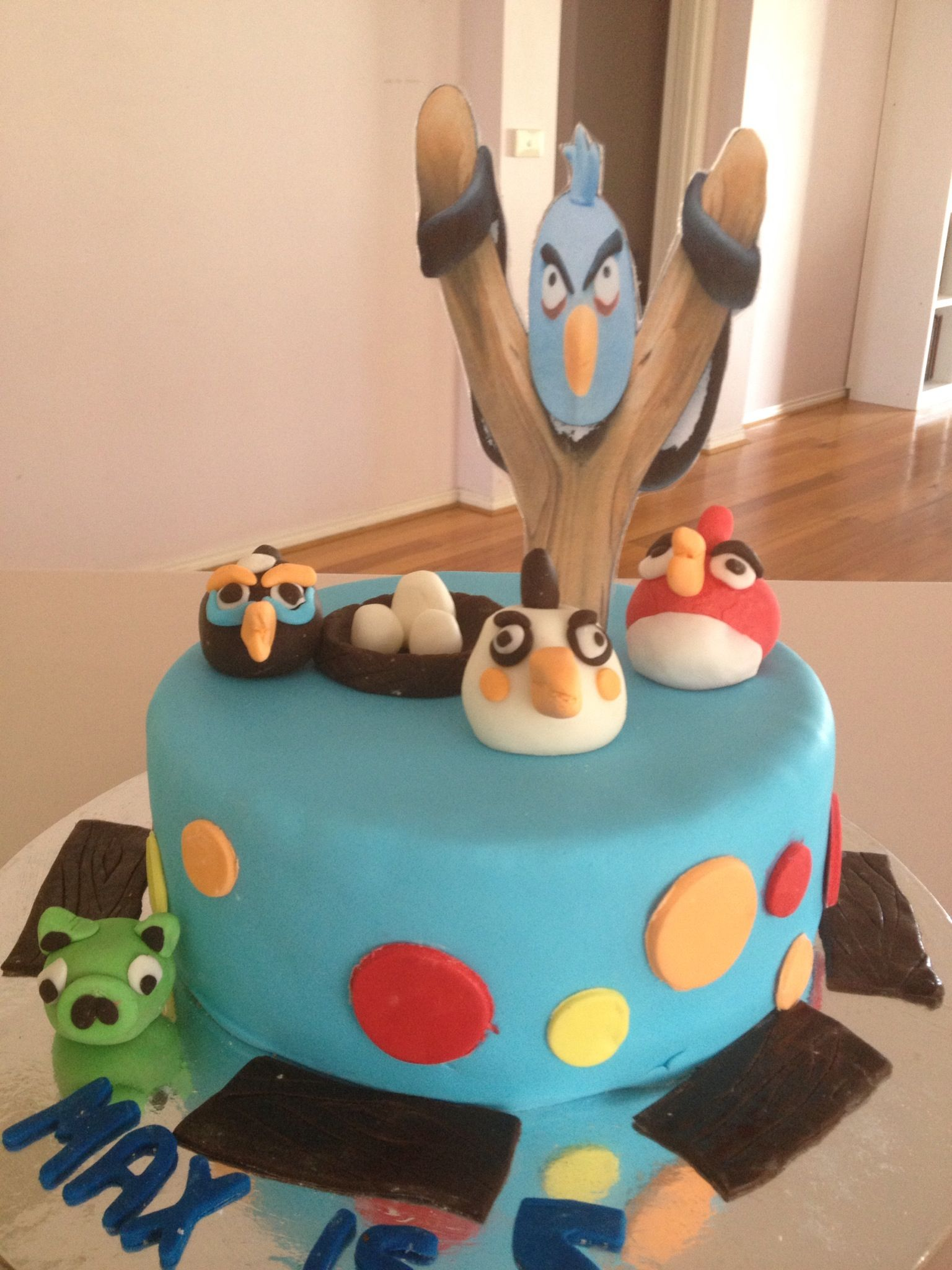 Angry birds cake angrybirds angry birds cake cake