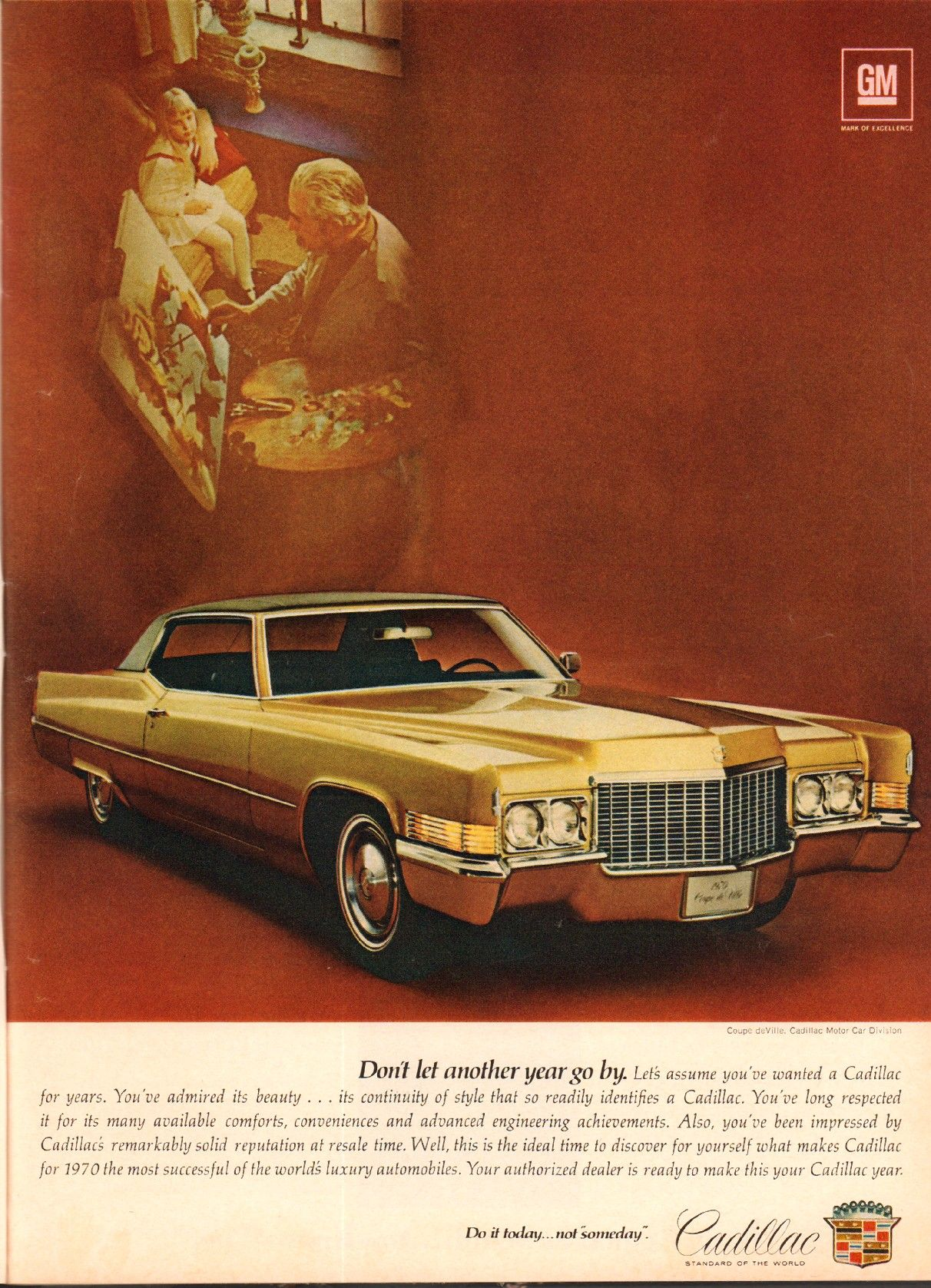 All sizes | 1970 Cadillac Coupe deVille Advertisement Newsweek May 11 1970 | Flickr - Photo Sharing!