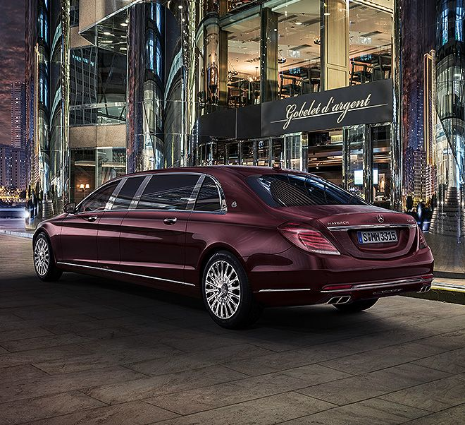 The New Mercedes-Maybach S-Class Pullman.