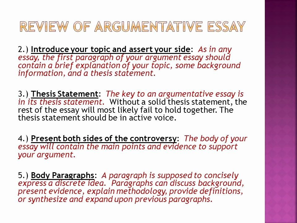 Thesi Statement Example Argumentative Inspirational Essay Choo Statem For Essays