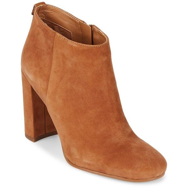 71fa9bc4389e Sam Edelman Cambell Leather Booties ( 90) ❤ liked on Polyvore featuring  shoes