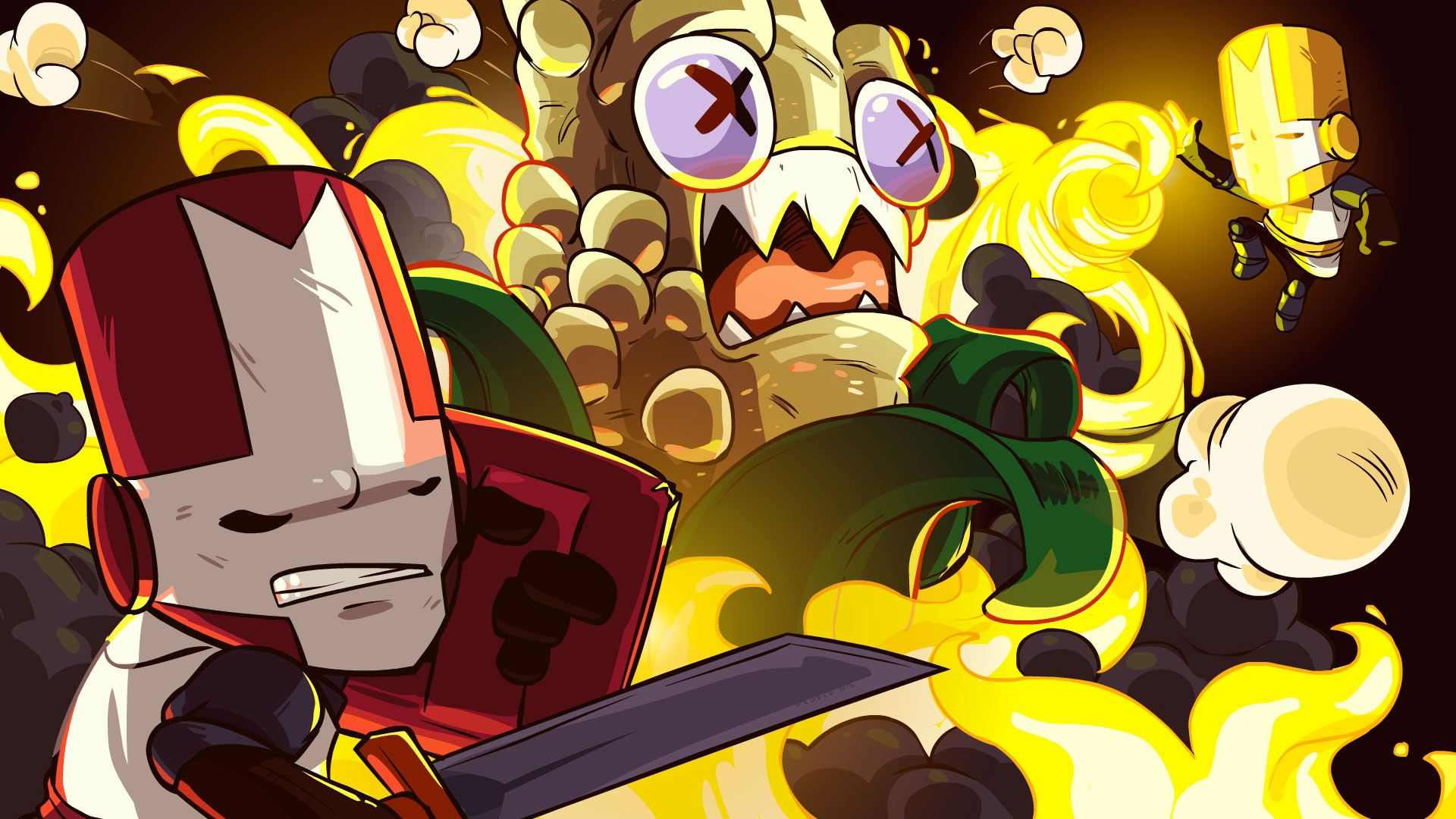 Pin By Unfamousradish On Games Castle Crashers Castle Art